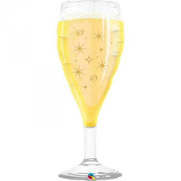 Coupe de champagne ballon mylar