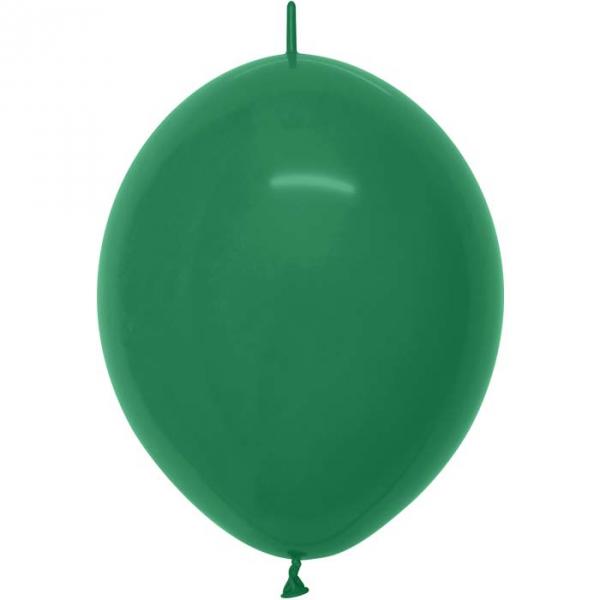 ballons vert foret link o loon 15 cm de diamètre