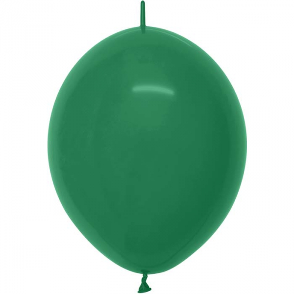 ballons vert foret link o loon 15 cm de diamètre SEMPERTEX 15 cm Double Attache Sempertex