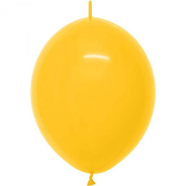JAUNE D'OR link o loon 15 centimètre diamètre fashion solid jaune d'or