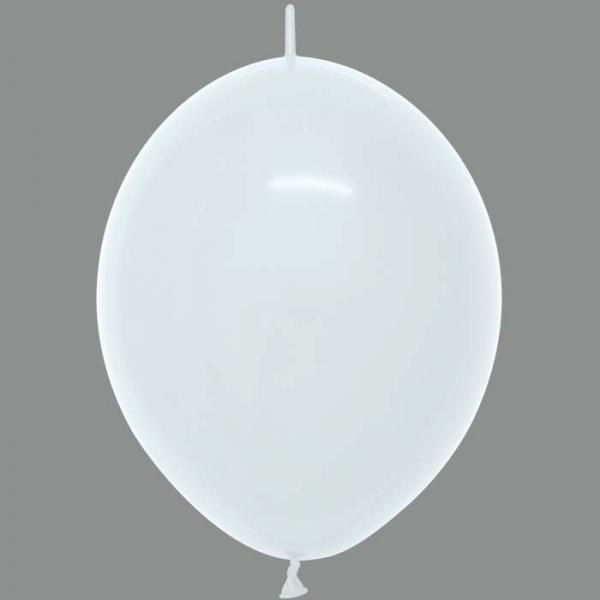 100 DOUBLE ATTACHE 30 cm opaque blanc 005