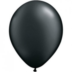 50 qualatex 40 cm couleurs noire43858 q noir 40p50 QUALATEX 40 Cm Opaque Standard 40 Cm Ø Qualatex