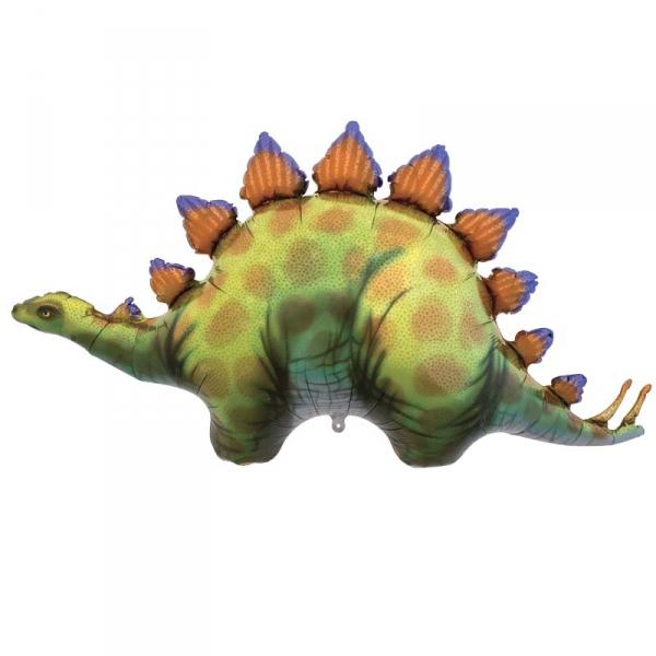 Stegosaurus ballon mylar 117 cm non gonflé