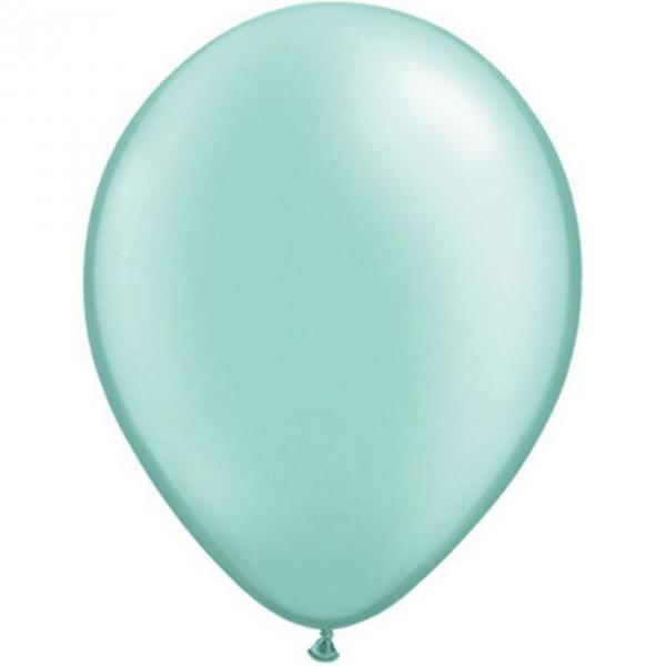 perlé menthe verte pastel 40 cm de diamètre par 5043891 pmg40p50 QUALATEX Ballons 40 cm diamètres pour décoration air ou hélium