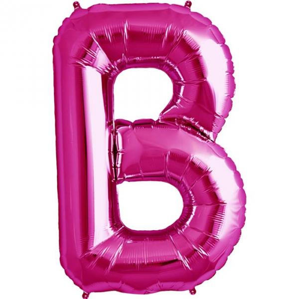 B lettre 75 cm au choix parmi 6 couleurs6559 NORTHSTAR LETTRES ET CHIFFRES 75 CM (air ou hélium)(6 couleurs au choix)