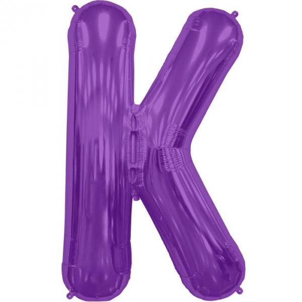 K lettre 75 cm au choix parmi 6 couleurs