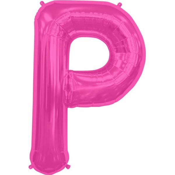 P lettre 75 cm au choix parmi 6 couleurs6574 NORTHSTAR LETTRES ET CHIFFRES 75 CM (air ou hélium)(6 couleurs au choix)