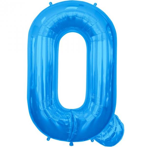 Q lettre 75 cm au choix parmi 6 couleurs6575 NORTHSTAR LETTRES ET CHIFFRES 75 CM (air ou hélium)(6 couleurs au choix)