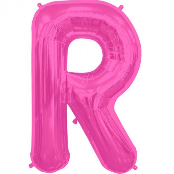 R lettre 75 cm au choix parmi 6 couleurs6576 NORTHSTAR LETTRES ET CHIFFRES 75 CM (air ou hélium)(6 couleurs au choix)