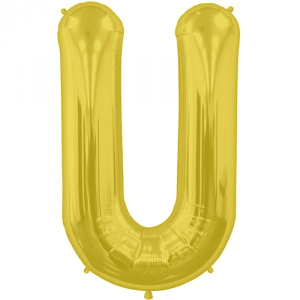 U lettre 75 cm au choix parmi 6 couleurs6579 NORTHSTAR LETTRES ET CHIFFRES 75 CM (air ou hélium)(6 couleurs au choix)