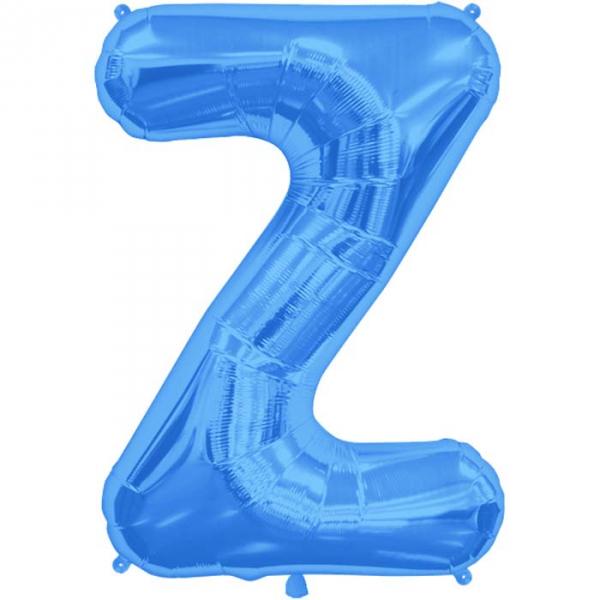Z lettre 75 cm au choix parmi 6 couleurs6584 NORTHSTAR LETTRES ET CHIFFRES 75 CM (air ou hélium)(6 couleurs au choix)