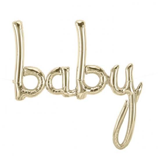 Baby script or blanc 77*86cm (gonflage air)