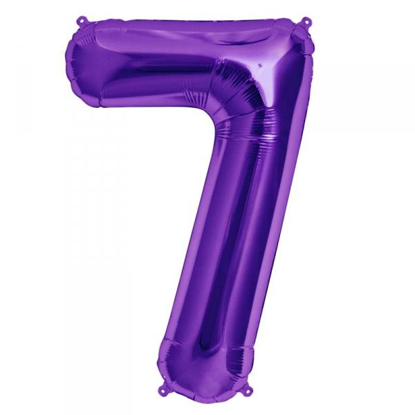 7 chiffre 75 cm au choix parmi 6 couleurs6604 NORTHSTAR LETTRES ET CHIFFRES 75 CM (air ou hélium)(6 couleurs au choix)