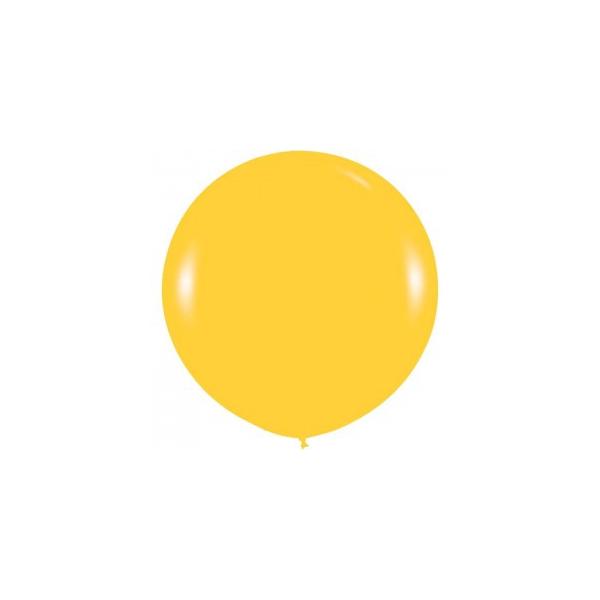 jaune 520 perlé métalique sempertex 90 cm de diamètre