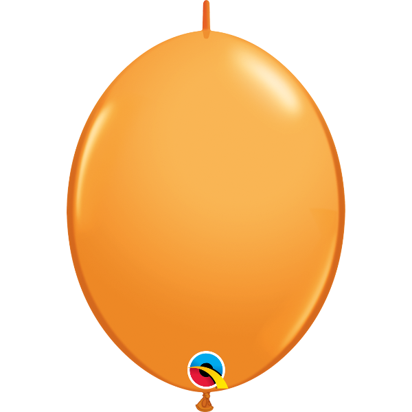 50 Ballons qualatex quick link orange