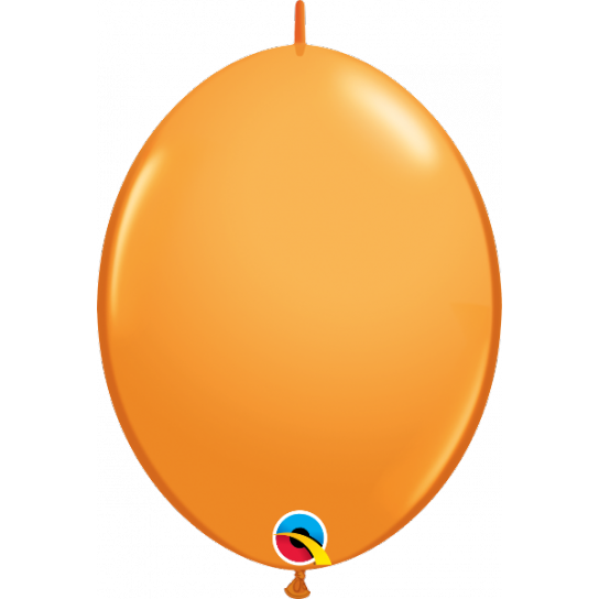 50 Ballons qualatex quick link 30 cm orange