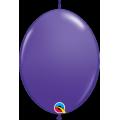 50 Ballons qualatex quick link 30 cm purple violet