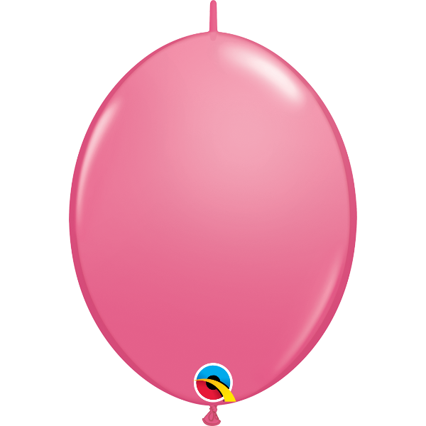 50 Ballons qualatex quick link30 cm rose foncé QUALATEX ROSE CLAIR ROSE FONCE BALLONS ET DECORATIONS