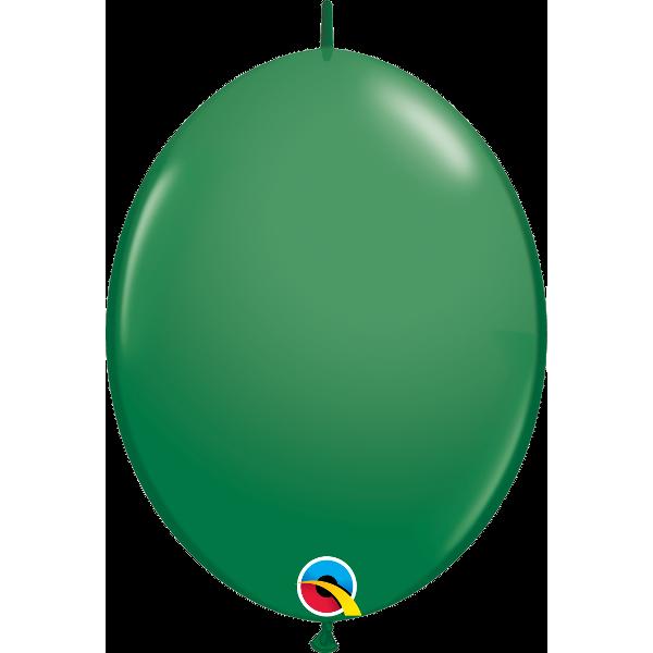 50 Ballons qualatex quick link 30 cm vert