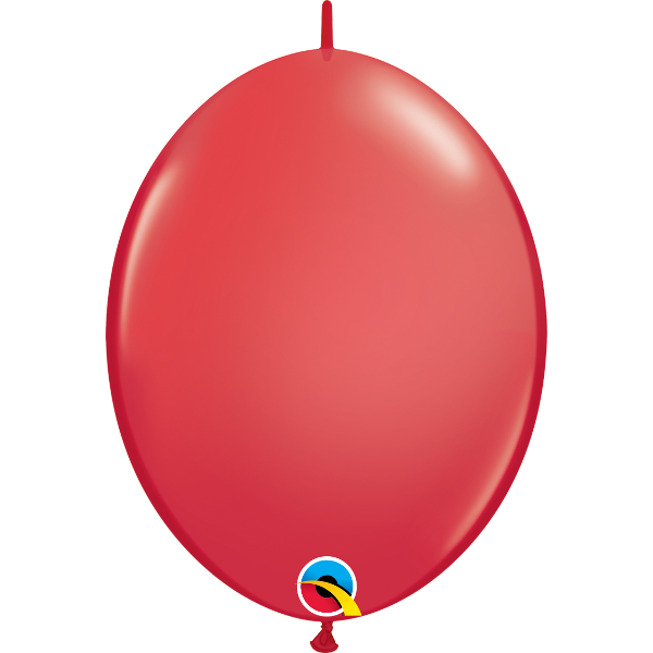 50 Ballons qualatex quick link 30 cm rouge