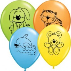 Animaux familiers ballons baudruche