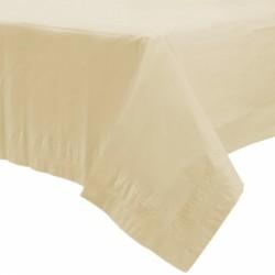 Nappe plastique 137*274 ivoire57115-57 AMSCAN IVOIRE