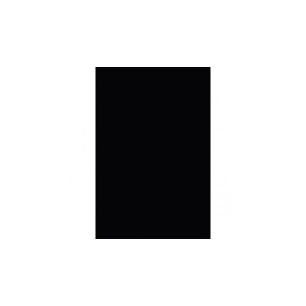 Nappe plastique 137*274 noir57115-10 NOIR