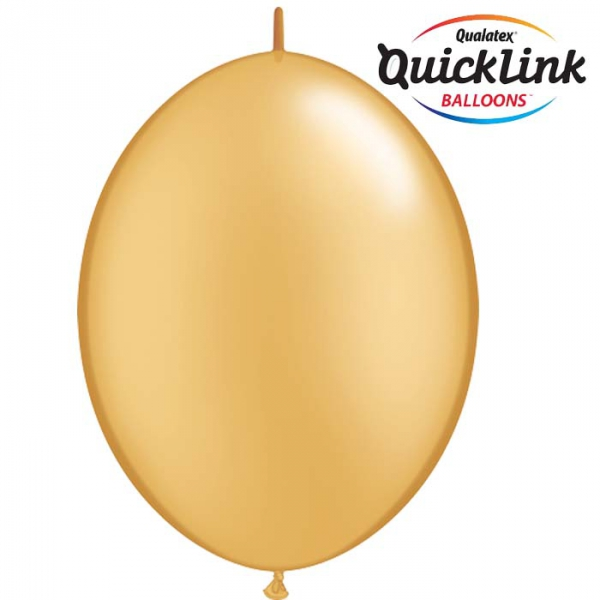 50 Ballons qualatex quick link 30 cm or QUALATEX Double Attaches Qualatex
