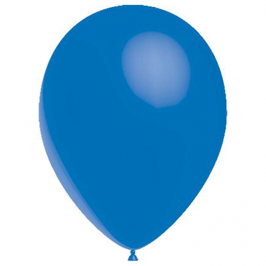Bleu roi ballon 30 cm de diamètre