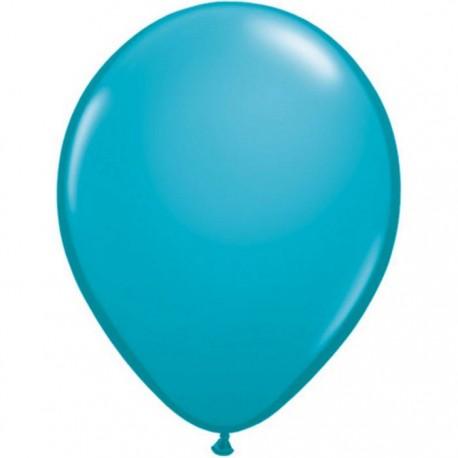 qualatex turquoise bleu 28 cm poche de 10043799 turquoise q28 cm p100 QUALATEX 28 Cm Modes Opaques Qualatex 28 Cm Ø Ballons