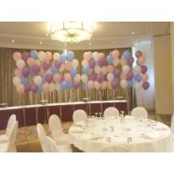 Installation bouquets et centre de tables suivant devis