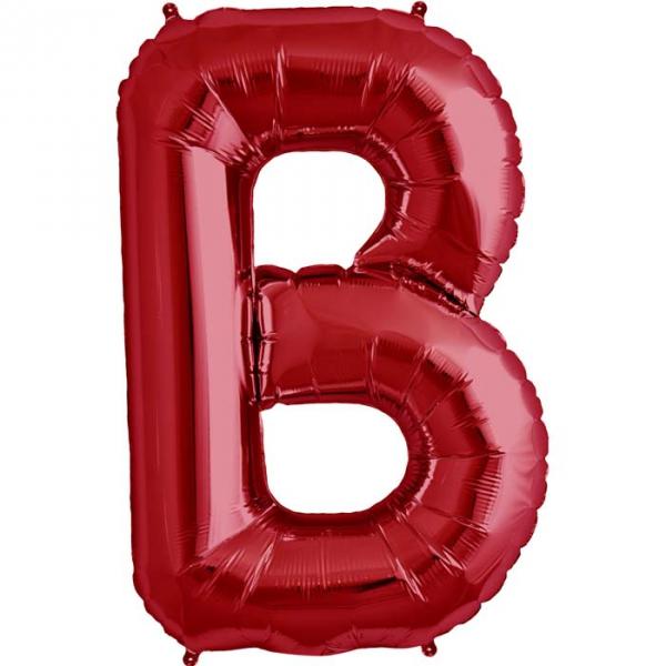 B lettre 75 cm ROUGE