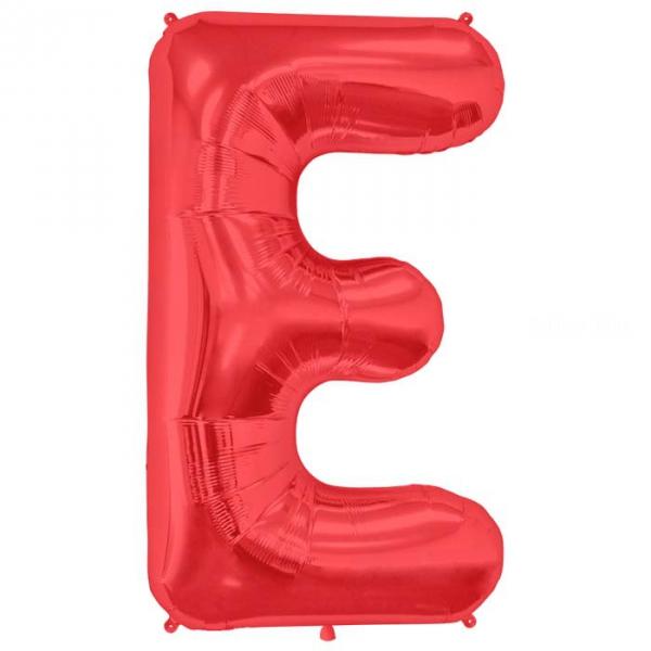 E lettre 75 cm ROUGE6812nscrouge226 NORTHSTAR LETTRES ET CHIFFRES 75 CM (air ou hélium)(6 couleurs au choix)