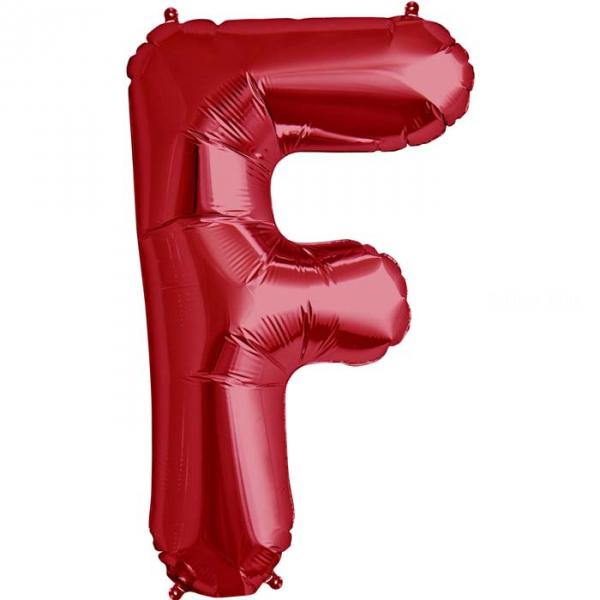 F lettre 75 cm ROUGE