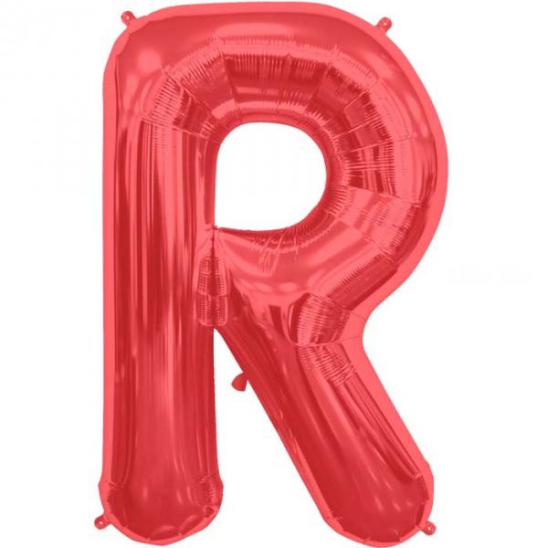 R lettre 75 cm ROUGE6818nrprouge114 NORTHSTAR LETTRES ET CHIFFRES 75 CM (air ou hélium)(6 couleurs au choix)