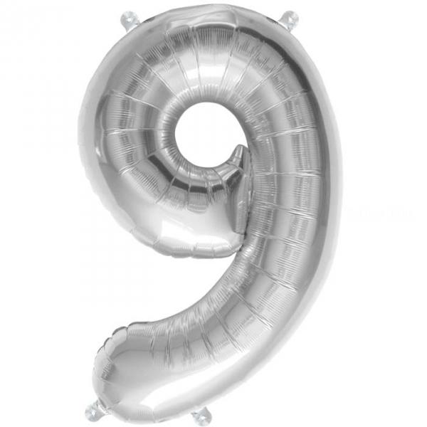 9 chiffre 41 cm agent6902 NORTHSTAR chiffres et Lettres 40 cm (gonflage air) fermeture automatique (5 couleurs au choix)