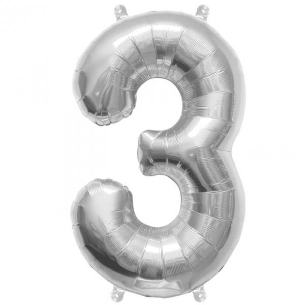 3 chiffre 41 cm agent6908 NORTHSTAR chiffres et Lettres 40 cm (gonflage air) fermeture automatique (5 couleurs au choix)