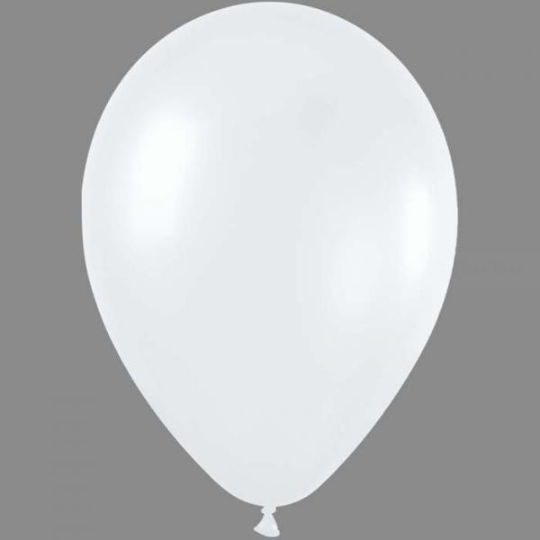50 ballons sempertex 30 cm satin perlé blanc 40511 405 SEMPERTEX 30 Cm Ø Métal Claires et foncés