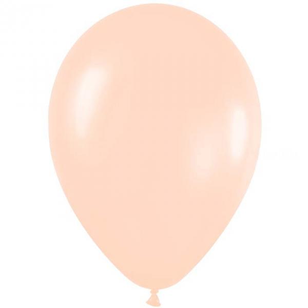 50 ballons sempertex 30 cm satin pearl pêche 460