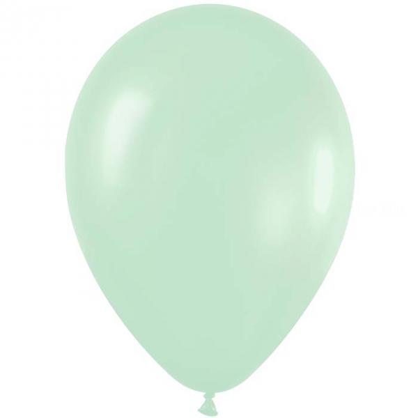 50 ballons sempertex 30 cm satin pearl vert 430