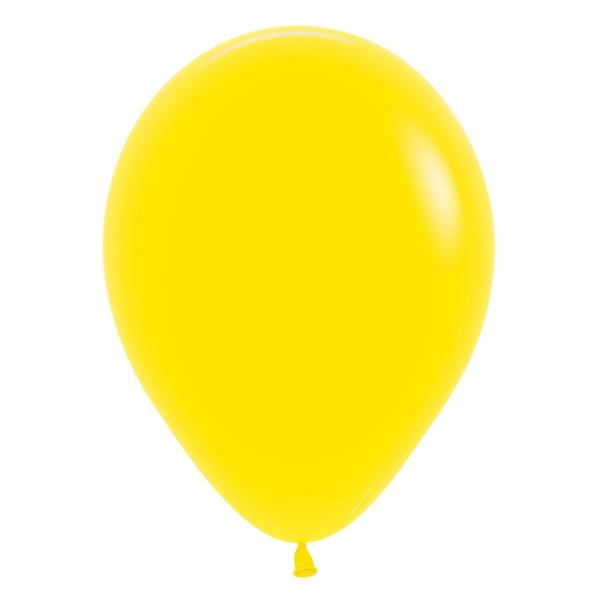 sempertex 30 cm jaune citron 020 poche de 50