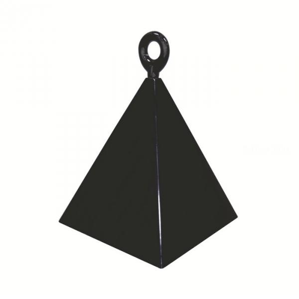12 contrepoids noir pyramide14428 Lestes Pour Ballons,Poids Ballons, Contrepoids Ballons