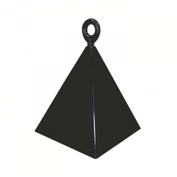1 contrepoids noir pyramide14428 Lestes Pour Ballons,Poids Ballons, Contrepoids Ballons