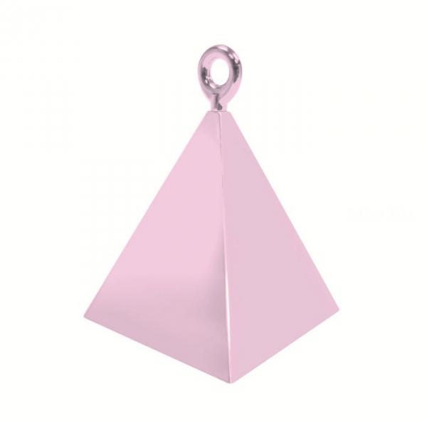 12 contrepoids rose pyramide14401 QUALATEX Lestes Pour Ballons,Poids Ballons, Contrepoids Ballons