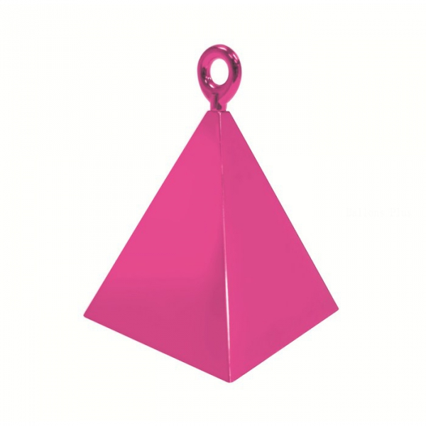 12 contrepoids magenta pyramide14402 QUALATEX Lestes Pour Ballons,Poids Ballons, Contrepoids Ballons