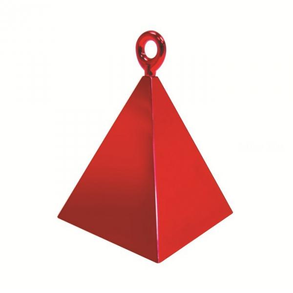 12 contrepoids rougze pyramide14417 QUALATEX Lestes Pour Ballons,Poids Ballons, Contrepoids Ballons