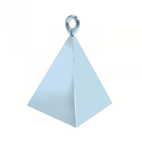12 contrepoids bleu pyramide14406 QUALATEX Lestes Pour Ballons,Poids Ballons, Contrepoids Ballons