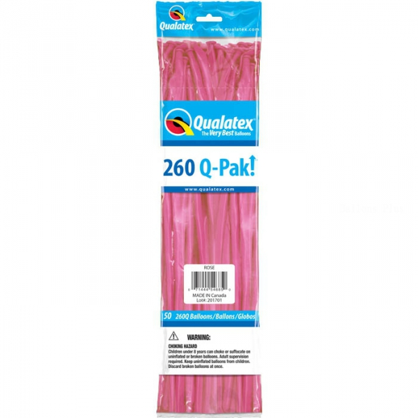 qualatex 260 rose foncé POCHE DE 5054685 QUALATEX 260 Ballons Saucisse 260 (5*151 Cm) Le Plus Utilisê