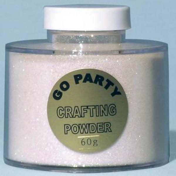 poudre paillette irisé en boite de 60 grs82492 poudre paillettes et stylos colle pour décoration