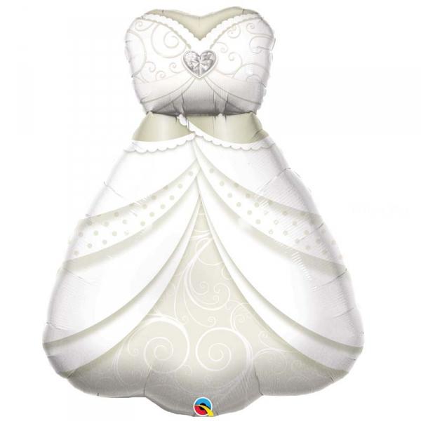 robe de mariée ballon mylar 97 cm